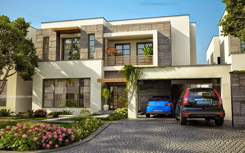 luxury-home-front-elevations-3d-elevation-com-modern-house-plans-designs-in